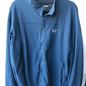 Arc'teryx men's XL Delta LT zip up fleece